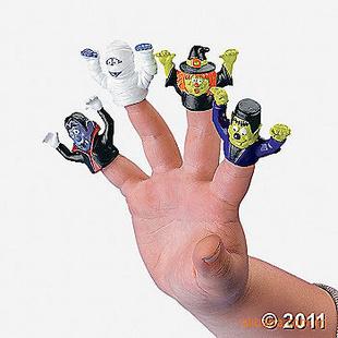搪胶手指套 造型可爱 品种繁多 产品新颖