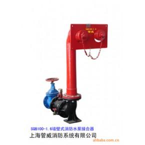 管威牌墙壁式消防水泵接合器