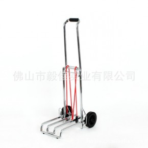 毅佳便携式大载重可折叠式铁管喷涂电镀行李车