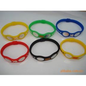 硅胶手环/平衡力量手环/抗疲劳手环,颜色多,尺寸齐