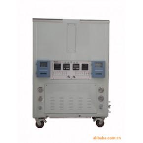 定制恒温型工业冷水机--带电子流量计和水质检测仪