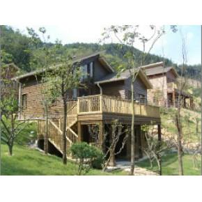 专业建造木别墅 木材