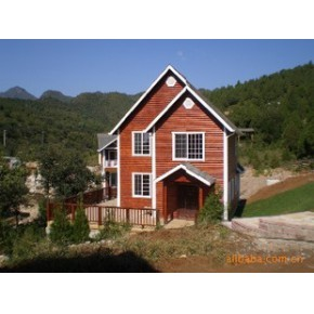 木屋、木制别墅 木材