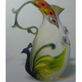法兰瓷花瓶,餐具,茶具 花瓶