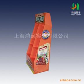 专业生产 带挂钩 可挂墙纸展示架,POP纸货架3