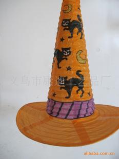 鬼节装饰帽子灯 帽子形状灯笼图片