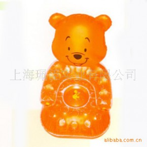 【专业提供】休闲可爱小熊沙发 时尚懒人充气沙发