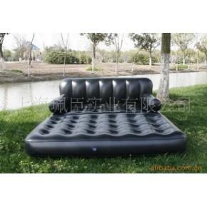 【小额批发】优质双人五合一沙发 上海盈泰PVC充气床