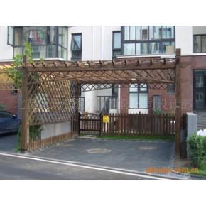 防腐木花架,免费设计 松木