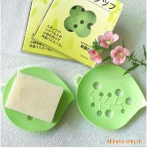 厂价!香皂必配工具~造型可爱.绿叶皂盒 香皂盒 (塑料材质)0.02