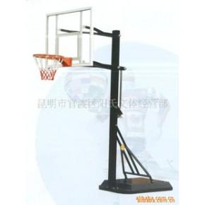 优质静电喷涂迷你全玻璃钢篮球架