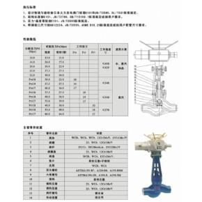 J961Y-320高温高压电站焊接截止阀厂家