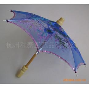 生产工艺伞(木柄伞架,尼龙面料,机械绣花)