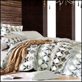 【艾博】时尚风情100%纯棉 床上用品 爽肤 活性印花 四件套新款