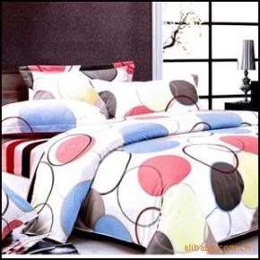 【艾博】幸福泡泡100%纯棉 床上用品  爽肤 活性印花 四件套新款