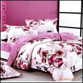 【艾博】叶叶深情100%纯棉 床上用品  爽肤 活性印花 四件套新款