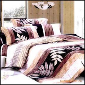 【艾博】叶语100%纯棉 床上用品  爽肤 活性印花 四件套新款