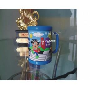 PVC软胶马克杯,塑胶马克杯