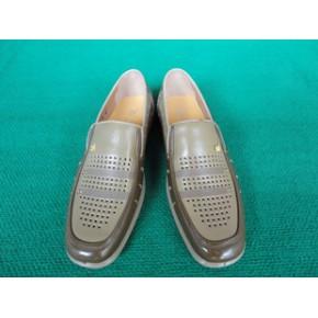 奕路歌2011年新款男式真皮凉鞋/男式休闲凉鞋/货号989
