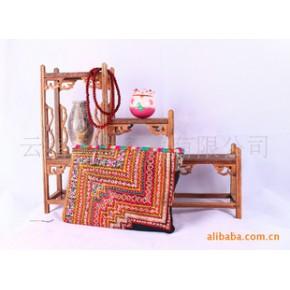 专业供应东南亚民族风百搭时尚老绣片包26802