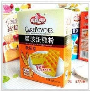 小彩娃微波蛋糕粉 麦胚芽味188g