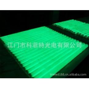 高品质单绿色LED护栏管、LED轮廓灯