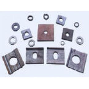 河北伟基专业生产轨距挡板、铁座、挡板座、道钉、弹条