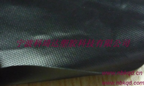 PVC加密夹网布篷布面料(KQD-A1-035)