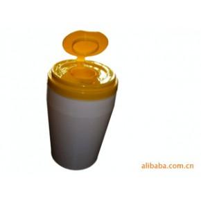 平盖型湿巾杯 塑胶盒 ITEM005